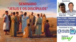 Cartaz seminário Beto e Afonso Chagas