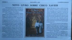 ESPIRTIA MINEIRO MAIO 2006 ANUNCIO DO LIVRO